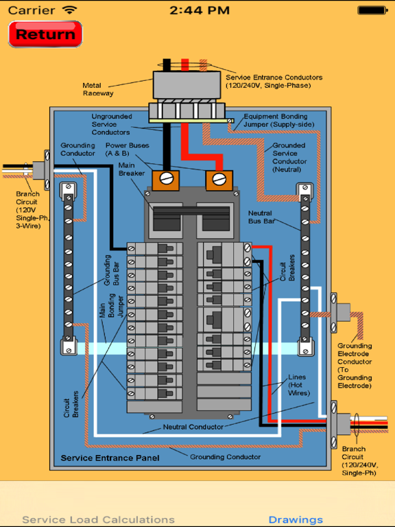 Electrical Load Calculator & Electrical Plan Example | App Price Drops