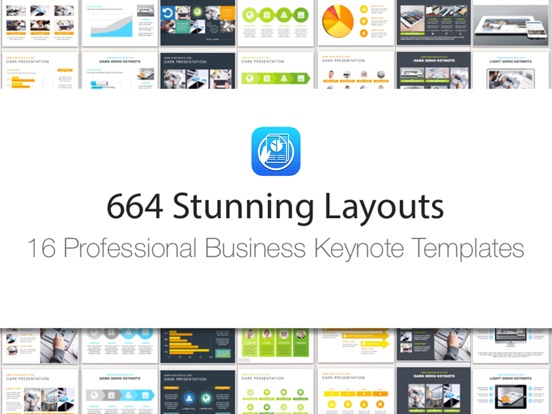 Business templates for keynote app price drops screenshot 2 for business templates for keynote friedricerecipe Image collections