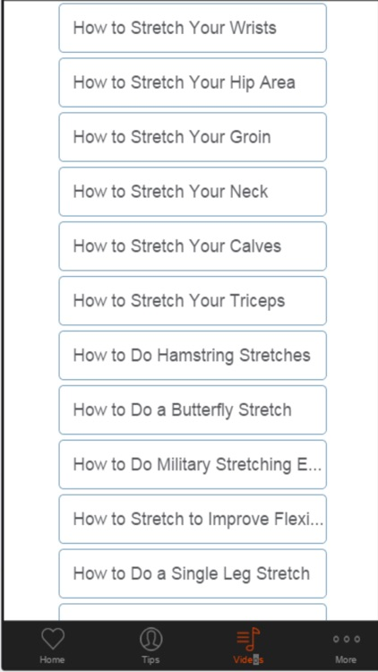 Stretching Exercise - Learn Flexibility Exercises for the Entire Body screenshot-4