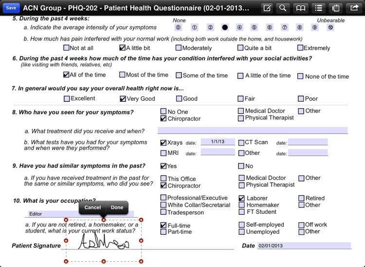 CT Forms Mobile 6.4 screenshot-4