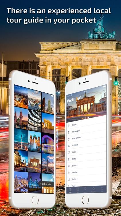 Berlin Travel Guide & offline city map