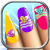 Manicure in Stylish Salon – Design Nail Polish on Your Own for Fancy Nails in Girl Makeover Booth
