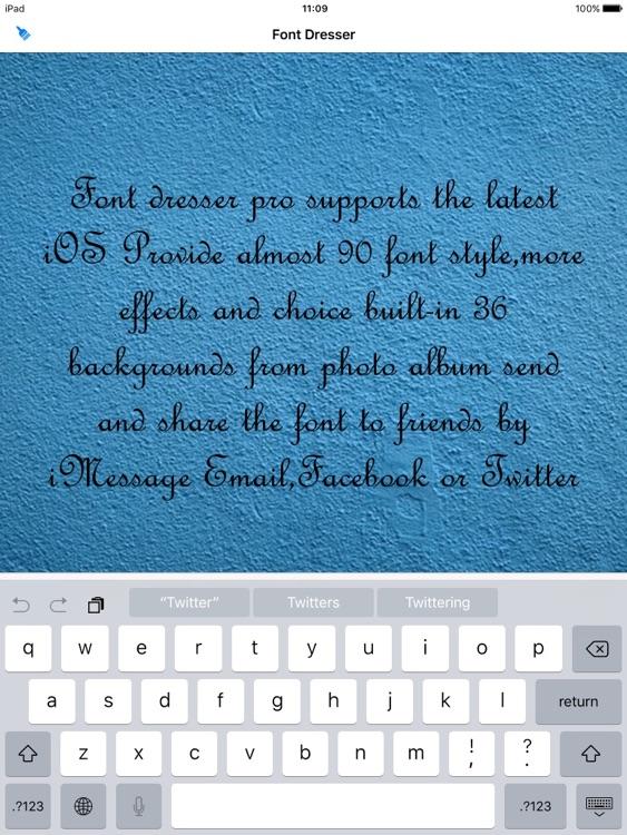 Font Dresser Pro HD screenshot-4