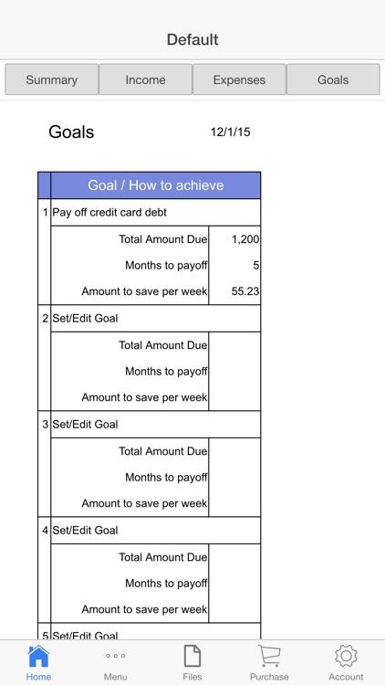 Household Budget screenshot-3
