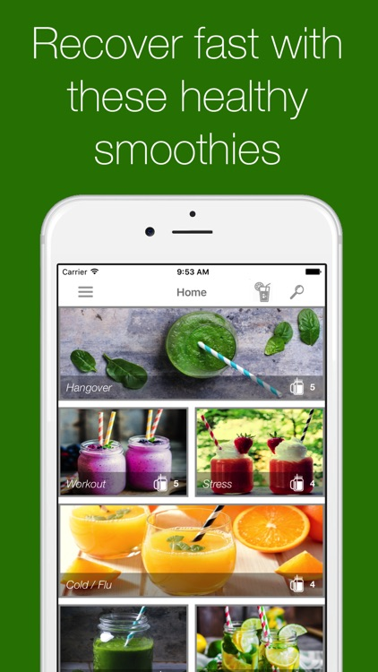 Detox Smoothie - helping you heal fast screenshot-0