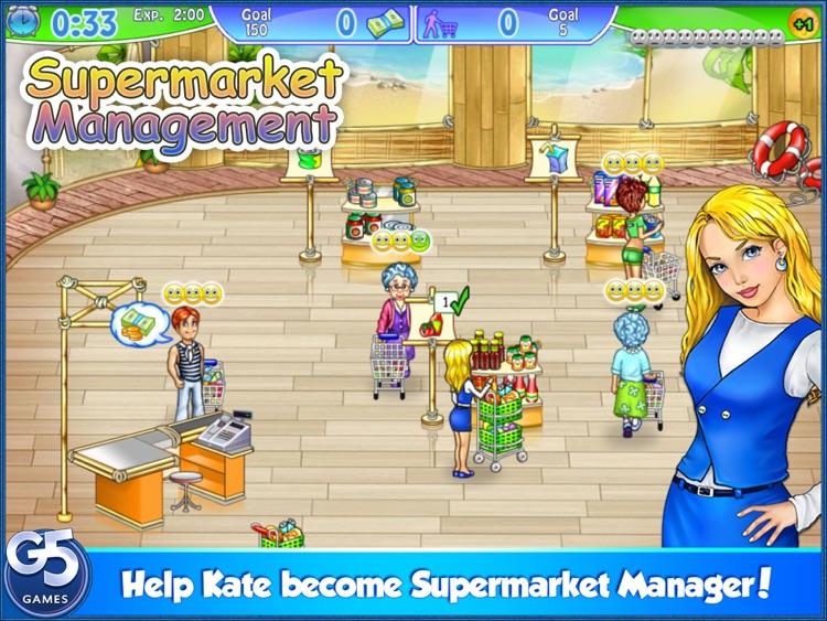 Supermarket Management HD screenshot-0