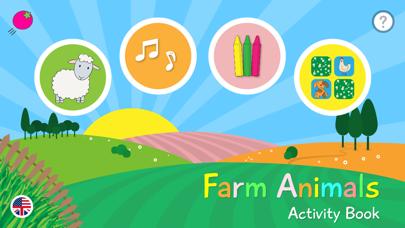 Farm Animals - Activity Book