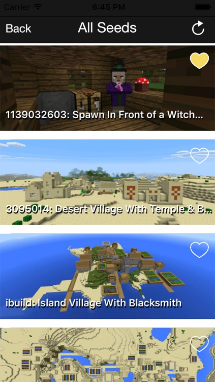 MinePE Download Maps, Mods & Seeds for Minecraft PE with Maps Database screenshot-3