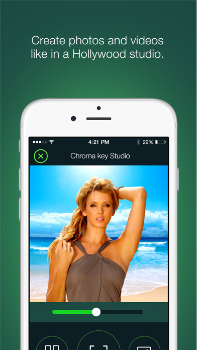 Green Screen App - (A Chroma key Studio Pro) - Real time