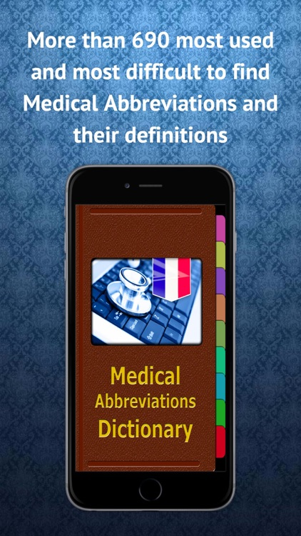 Medical Abbreviations French screenshot-0