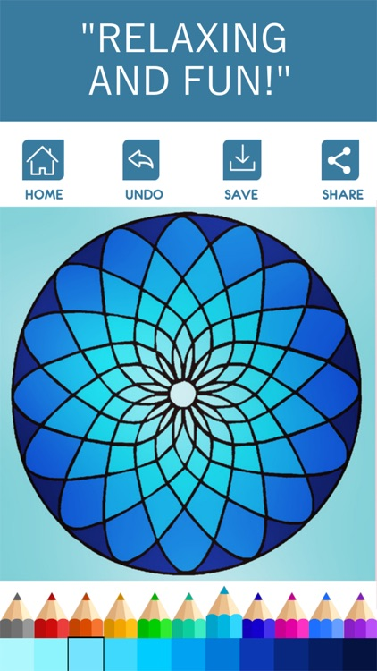 Mandala Coloring Book - Game for Adults screenshot-1