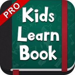Kids Learn Book Pro - Educational App , Fun Learning Game