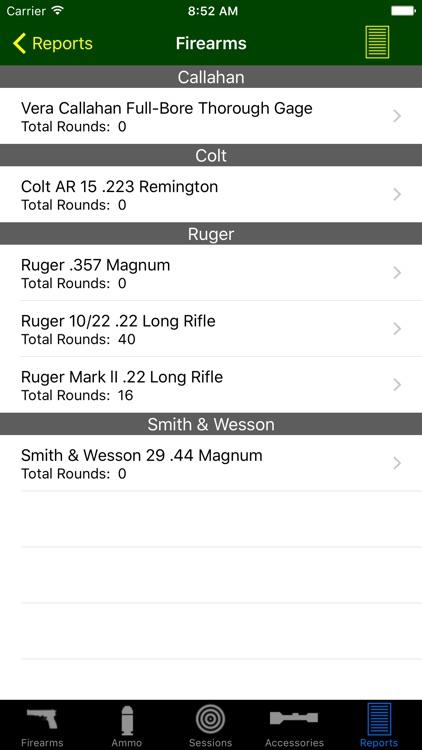 Gun Log SPC screenshot-3