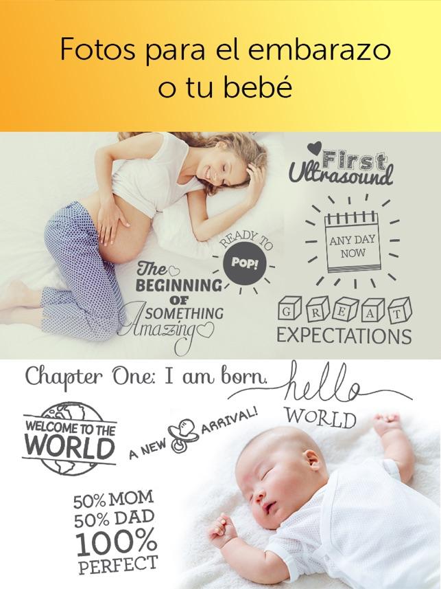 Baby Photo Editor - Fotos y recuerdos de tu bebé y embarazo en App Store