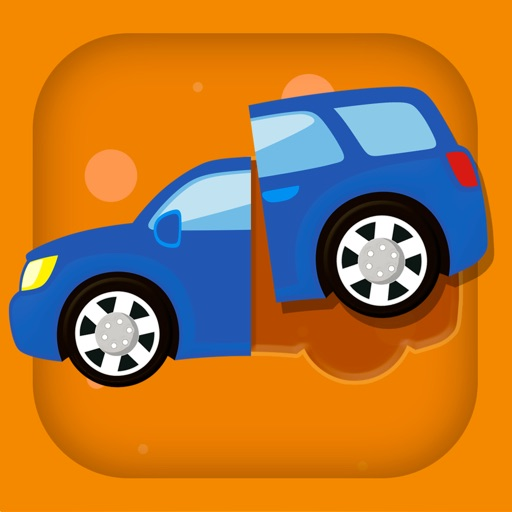 Cars & Vehicles Puzzle Game for toddlers HD - Children's Smart Educational Transport puzzles for kids 2+ icon