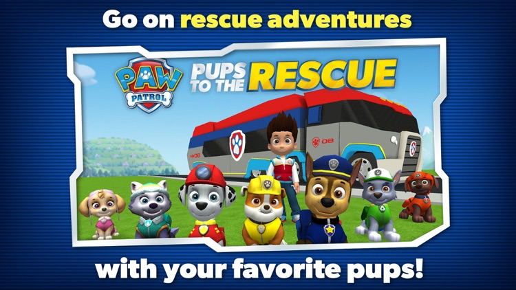 PAW Patrol Pups to the Rescue screenshot-0