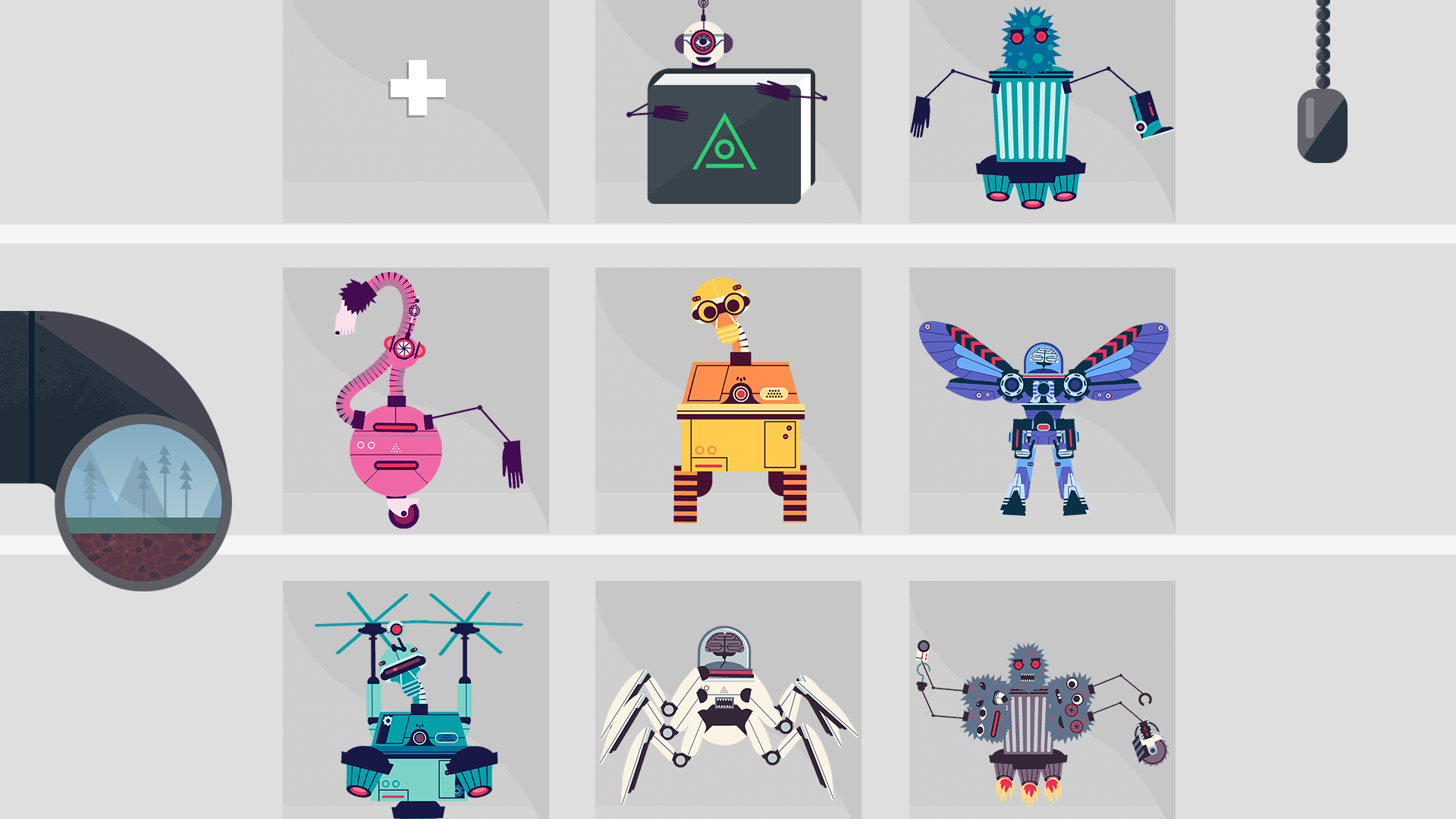 The Robot Factory by Tinybop screenshot 10