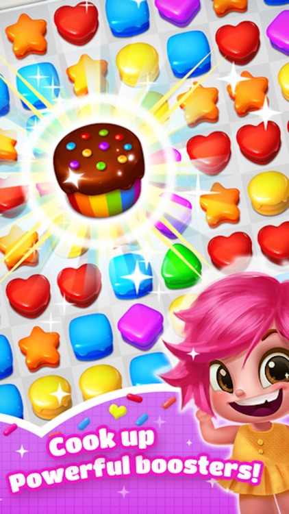 Sweet Cookie Candy - 3 match blast puzzle game screenshot-4