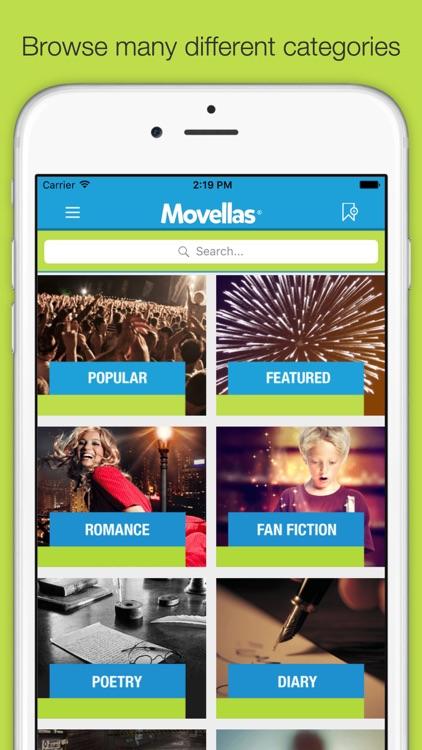 Movellas - Best Stories and Fanfiction screenshot-4
