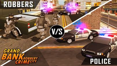 Bank Robbery - crime city police shooting 3D free-0