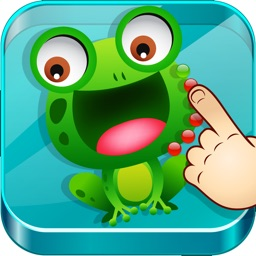 Connect Dots: In The Zoo - Number and alphabet learning game for kids and toddlers