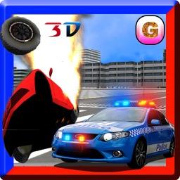 Demolition Derby: Police Chase - Car Crash Racing Thief Escape Game