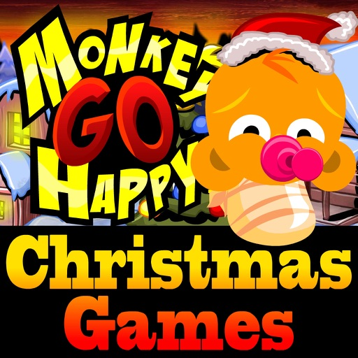 Monkey GO Happy Christmas Games