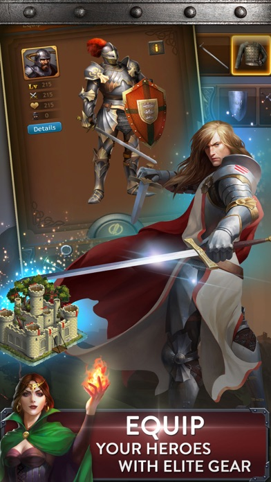 Kingdoms of Camelot: Battle iPhone
