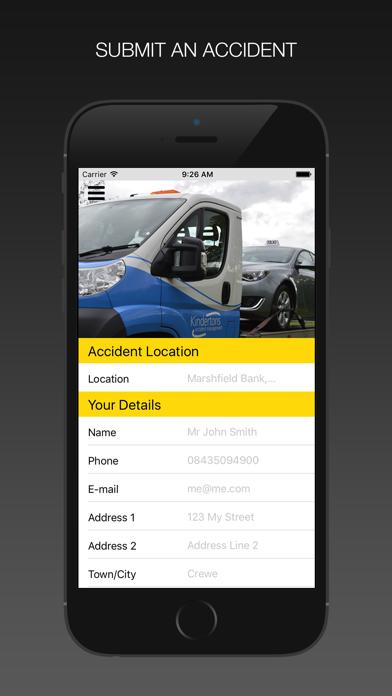 Kindertons Taxi Assist screenshot two