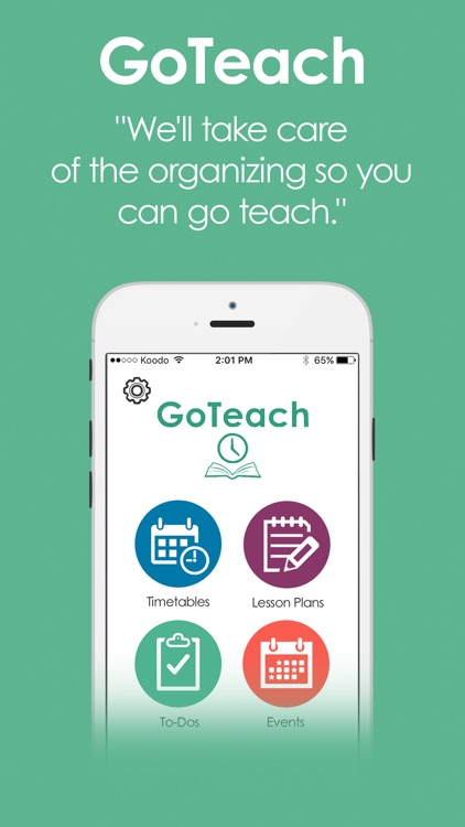 GoTeach - Teacher Planbook, Lesson Plans and More!