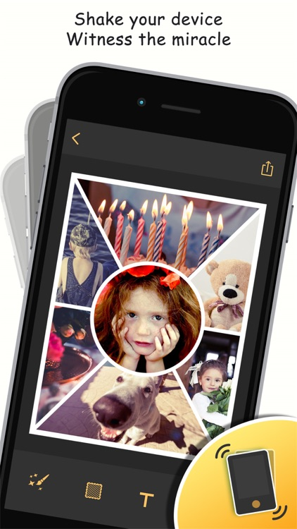 Photo Shake - Picture Frames Camera&Collage Editor