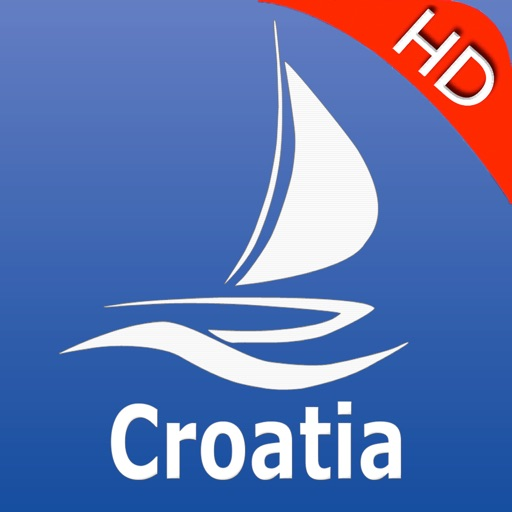 Croatia GPS Nautical charts pro