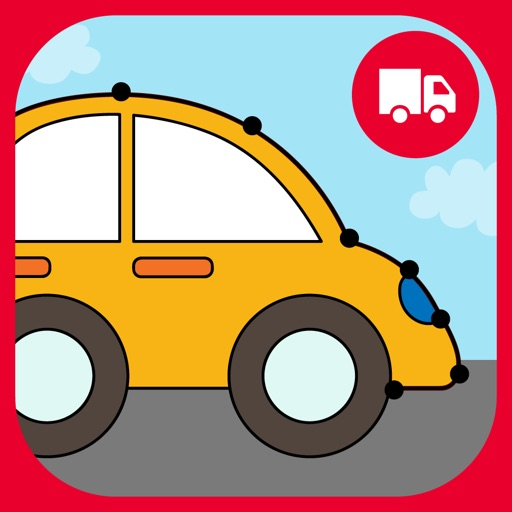 Cars Connect the Dots and Coloring Book free