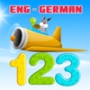 Learning English to German Number 1 to 100 Free : Education for Preschool and Kindergarten