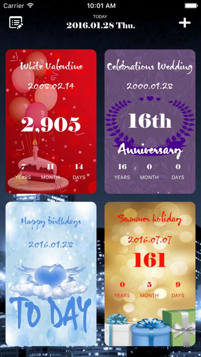 Dreamdays: Count Down to the Anniversary Free screenshot three
