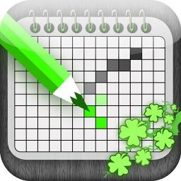 Patrick Japanese Crossword - The Most Green Nonogram