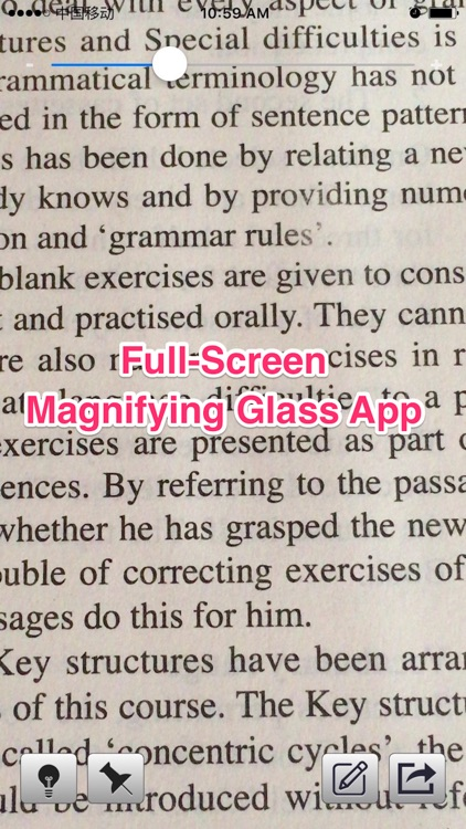 Magnifying Glass With Light - Make Text Larger & Easier To Read