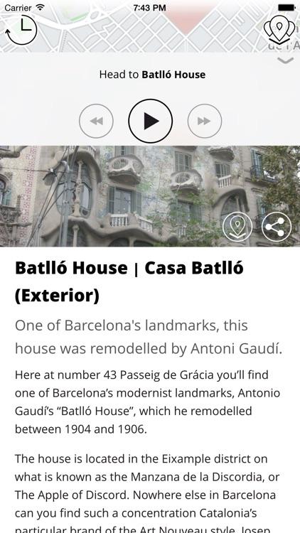 Barcelona Premium   JiTT.travel Audio City Guide & Tour Planner with Offline Maps