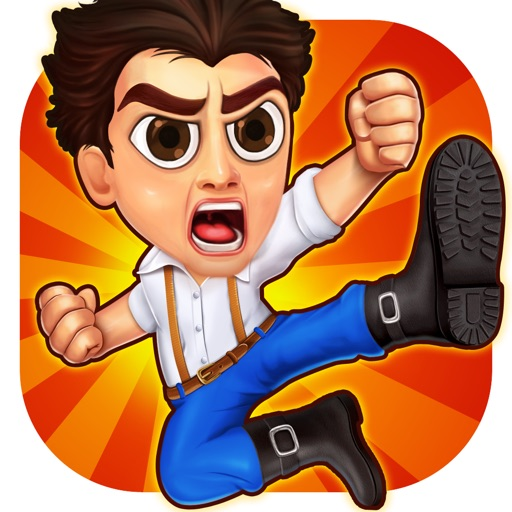 Action Heroes - Running Game