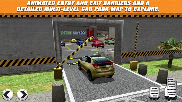 Multi Level 2 Car Parking Simulator Game - Real Life Driving Test Run Sim Racing Games screenshot-3