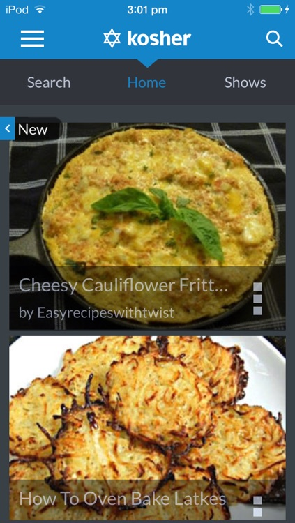 Kosher recipes by ifood.tv