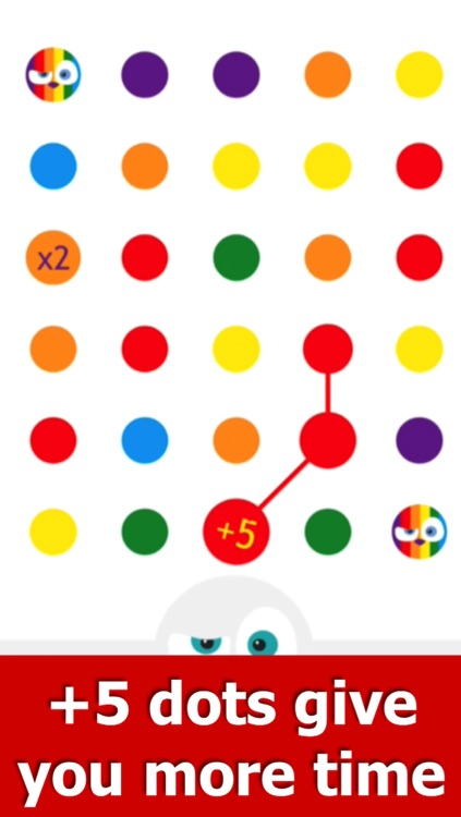 Angry Dots - Free Puzzle Game: Think, Match & Connect screenshot-3