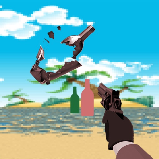 A Bottle Shoot Game