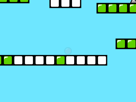 Red Bouncing Ball Spikes Free-ipad-3