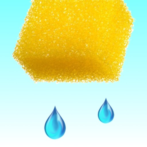 Catch The Waterdrop - Squeeze Water From A Sponge