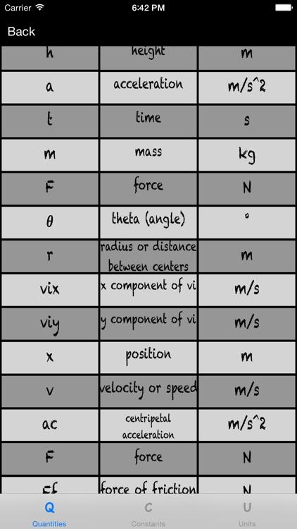 Physics Calculator Pro screenshot-3