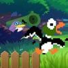 Bazooka Penguin - Duck hunt mission