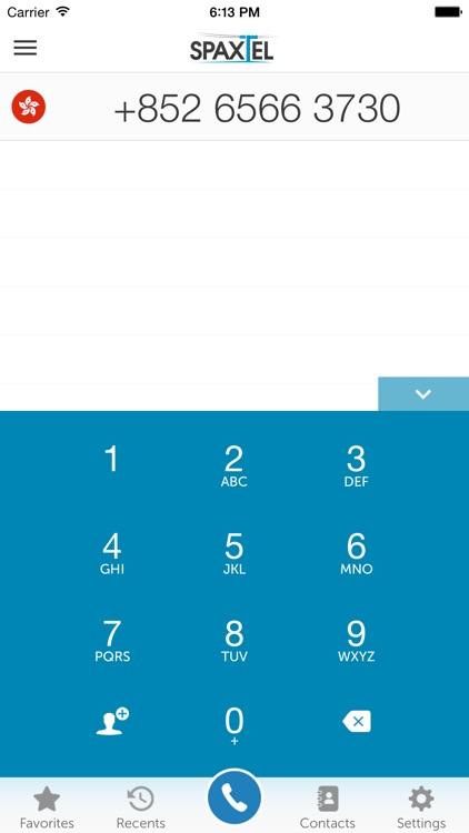 International Calls | SpaxTel