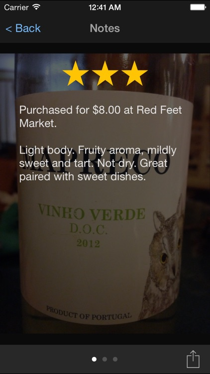 Fotovino - a wine diary, your wine tasting journal in pictures. screenshot-1