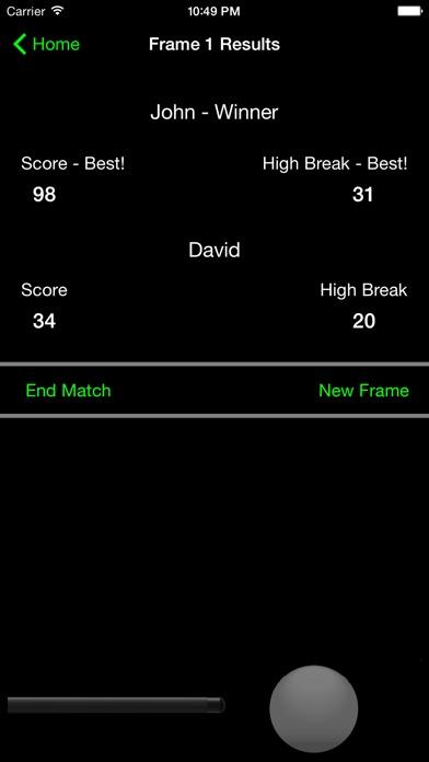 Break - Snooker Score Calculator Screenshot 4